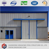 Almacén de almacenaje ligero de la estructura de acero