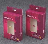 Rectángulo de regalo de empaquetado plegable de papel de la ropa interior con alta buena calidad