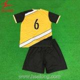Disegno degli abiti sportivi di Healong le vostre proprie camice del pullover di calcio a buon mercato
