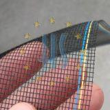 Черное плетение провода пожара стеклоткани доказательства пыли цвета