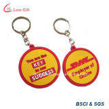 Heißer Verkaufs-harter Gummi Keychain für förderndes Geschenk
