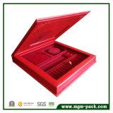결혼식을%s 고품질 빨간 가죽 보석 고정되는 상자