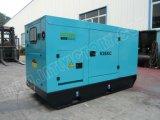 gerador 63kVA Diesel Soundproof com motor 1004tg de Lovol para projetos de edifício