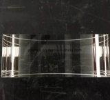 BK7 óptico de la lente convexa de Plano Retangular cilíndrico de la lente