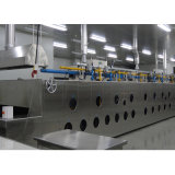 Linha de Produção Profissional Forno de Túnel de Gás Elétrico para Fábrica de Alimentos Bds-14D