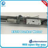 Es75 알루미늄 덮개와 정비 지원 훅과 더불어 자동적인 미끄러지는 센서 유리제 문 오프너,