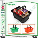 소매 Equipment 및 Black Plastic Shopping Basket