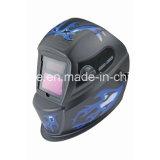 4대의 센서 큰 전망 자동 어두워지는 용접 헬멧 세륨 기준