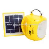 Camping lumière solaire, pratique pour le transport