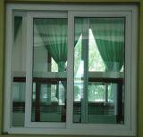 Finestra di scivolamento del PVC di prezzi competitivi con il vetro Tempered di vetratura doppia per la Camera residenziale