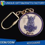 Logo d'impression personnalisé Fournisseur de porte-clés en métal