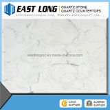 رخيصة أبيض لون مرو حجارة ألواح كبيرة اصطناعيّة رخاميّة لون مرو حجارة [كونترتوب]