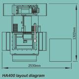 Alta precisión servo Molibdeno alambre CNC EDM