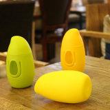 Nuova bottiglia di acqua di vetro di figura 300ml del mango (CHB8009)
