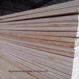 hojas de 12m m que empaquetan el pegamento de la chapa WBP/Mr de Bintangor de la madera contrachapada
