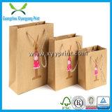 Faits sur commande de sac de papier Kraft Sac papier cadeau avec logo Imprimer