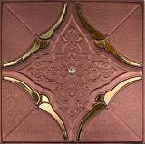 панель стены 1162 PU 3D кожаный для домашнего украшения