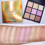 palette de fard à paupières de couleurs de la version 9 de Hot Selling Morphe Deyst Danger Highlight Limited
