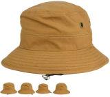 Cappello adulto dell'uomo del Fisher del cappello della benna della saia del cotone della spazzola del ricamo dell'OEM 3D