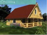 Sala de lazer Villa de madeira (HT-F-005)