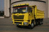 Camion à benne basculante chaud de Shacman 6X4 de vente