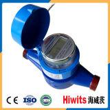 O medidor do volume de água de Digitas datilografa o medidor mecânico do volume de água