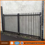 旧式な錬鉄の塀は製造業者にパネルをはめる
