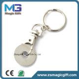 Corrente chave promocional personalizada do trole chaveiro