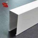 La figura calda di vendite U ha sospeso il soffitto falso del deflettore dei deflettori di alluminio lineari