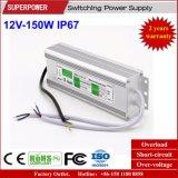 Levering van de constante LEIDENE van het Voltage 12V 150W de Waterdichte Macht van de Omschakeling IP67