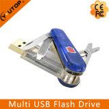 Vara Multifunction do USB da faca de exército do presente feito sob encomenda (YT-1219)