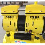 Compressor de ar livre de óleo silencioso de 600 W 9L