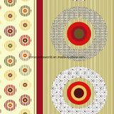 100%Polyester de Afgedrukte Stof van cirkels Pigment&Disperse voor de Reeks van het Beddegoed