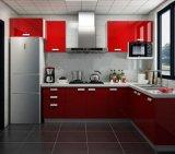 Cucina acrilica di legno lucida (ZH)