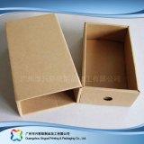 Gewölbtes Papier-Fach-Verpackungs-Geschenk-Kleid-Kleidung-Schuh-Kasten (xc-aps-005A)