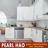 Шкаф кухонных шкафов кухни березы самомоднейшей конструкции белый деревянный
