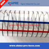 Feiner Draht flocht transparente/freie Belüftung-Stahldraht-Spirale verstärkter Schlauch