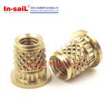 플라스틱을%s 중국 잠그개 제조자 에서 돛 금관 악기 짧은 외부 다이아몬드에 의하여 깔쭉깔쭉하게 하는 삽입