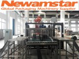 Robot de Newamstar emballant la machine pour la chaîne de production de boisson