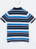 Chemise de polo barrée du garçon fait sur commande