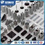 Norm van de fabriek anodiseerde de Natuurlijke Zilveren Profielen van het Aluminium voor Lopende band
