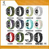 실리콘 Apple 시계 시리즈 1 의 Apple 시계 시리즈 2를 위한 스포츠 악대 링크 손목을%s 알루미늄 상자 나이키 스포츠 악대