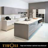 品質の食器棚の製造者Tivo-0058からの前にアセンブルされた顧客用食器棚セット