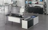 現代シンプルな設計L形の執行部の机