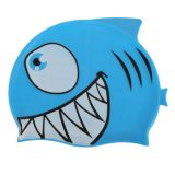 Unisex Kids Baby Boys Girls Cartoon Silicone Waterproof Swimming Cap