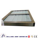 A Fresta do painel de vidro/vidro da janela da fresta de alumínio