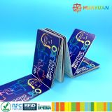 13.56MHz RFID LES66R01L papel de la tarjeta de billete de papel para el sistema de transporte