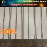 Polyester-Garn-gefärbtes Streifen-Futter-Gewebe für Mann-Klage-Futter (S93.95)