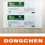 Étiquette de bouteille d'énanthate de testostérone 10 ml, étiquette de bouteille Anabolizantes Testosterona