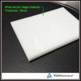 Installer rapidement 4 ' x4 Dance Floor acrylique portatif blanc